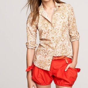 🎭J. CREW🎭PERFECT SHIRT IN ISLET PAISLEY🎭